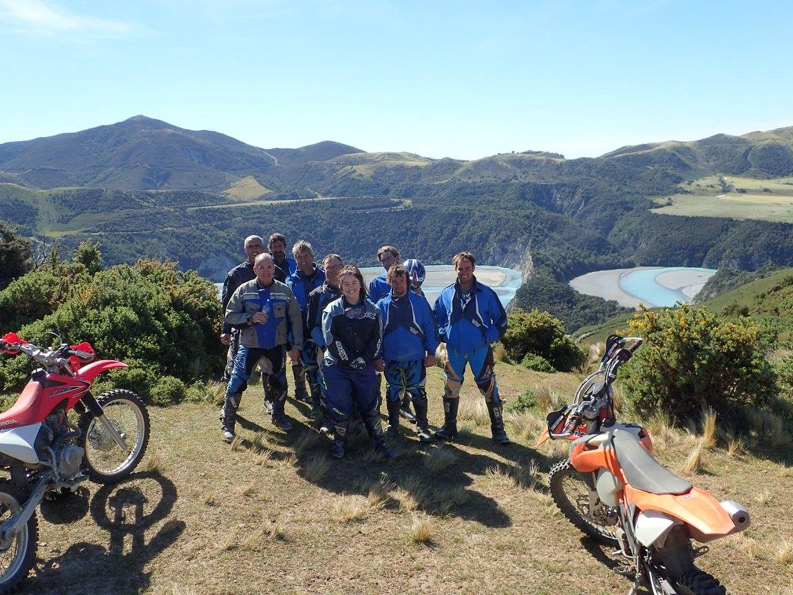 Dirt bike tours South Island NZ