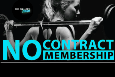 no contact gym membership
