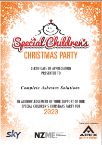 special childrens christmas party 2020
