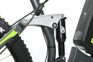 A5 Air shock mountain bike rikonda