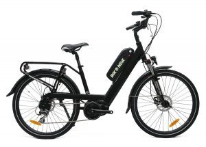 Black Midcity commuter rikonda electric e bikes christchurch nz
