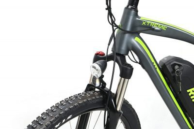 Bright front light mountain bike rikonda