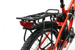 Rear Rack with Safety light trail rikonda