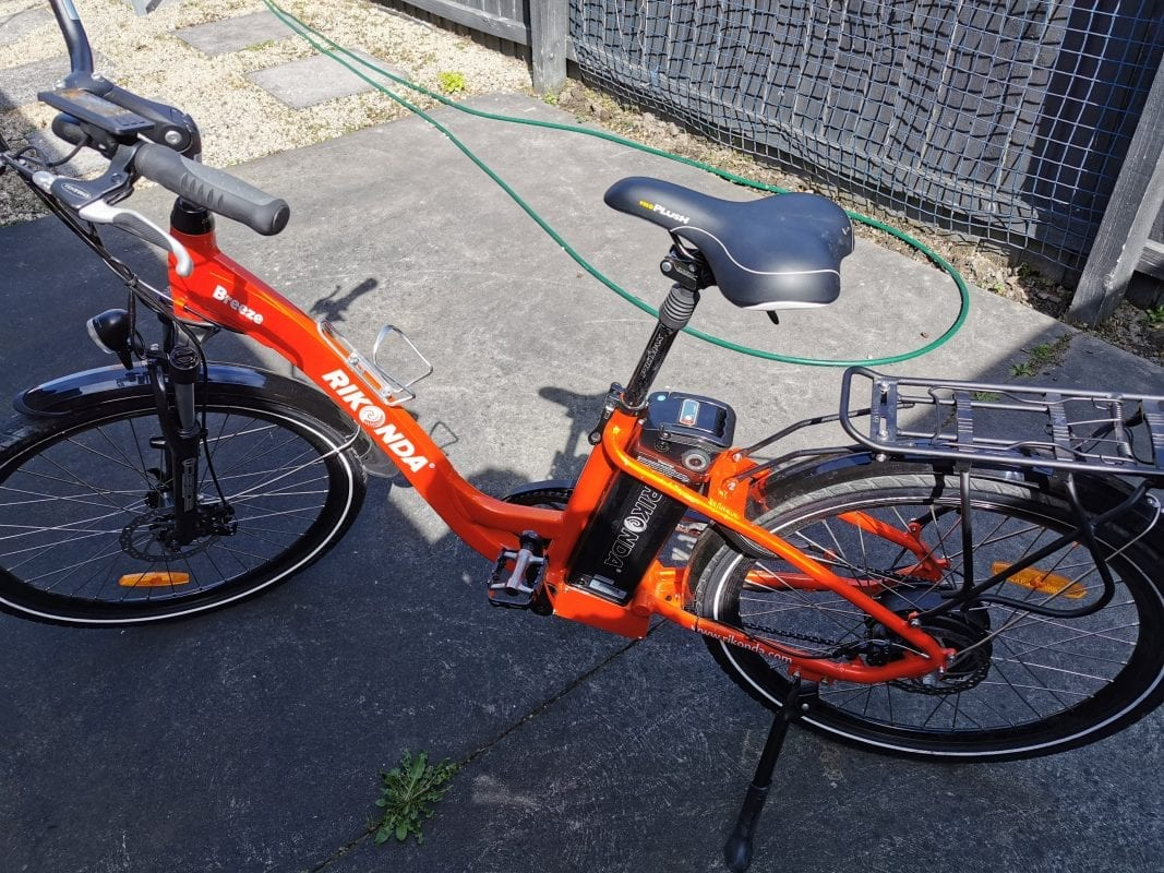 Orange commuter Lance