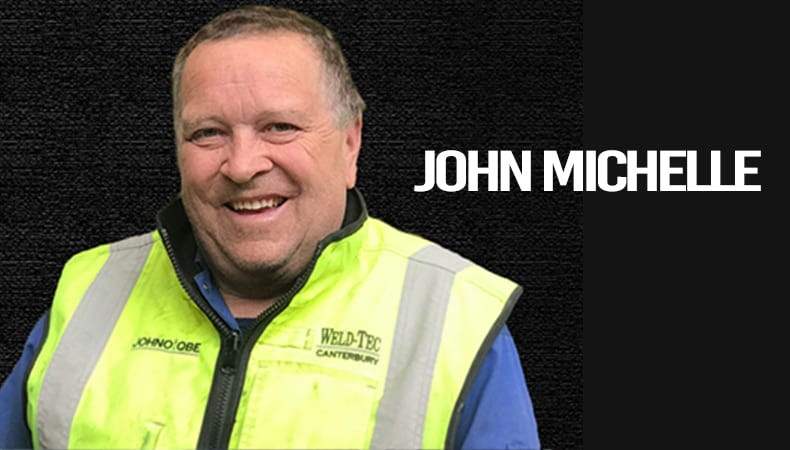 John Michelle from Weld-Tec Canterbury
