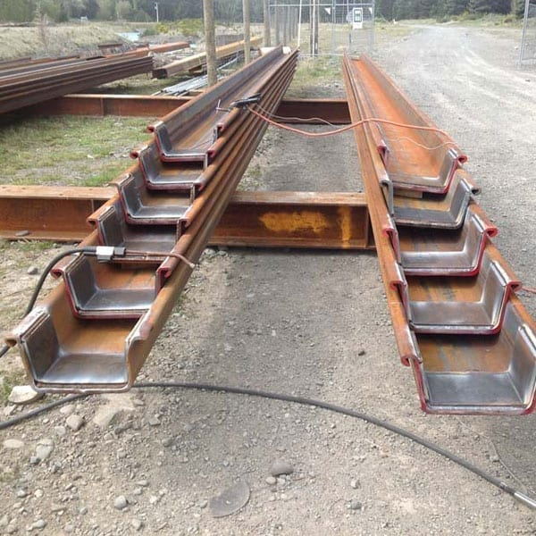Browns Rock Intake Pages Curletts Road projects. Welding of structural piles web works industrial welders christchurch nz05