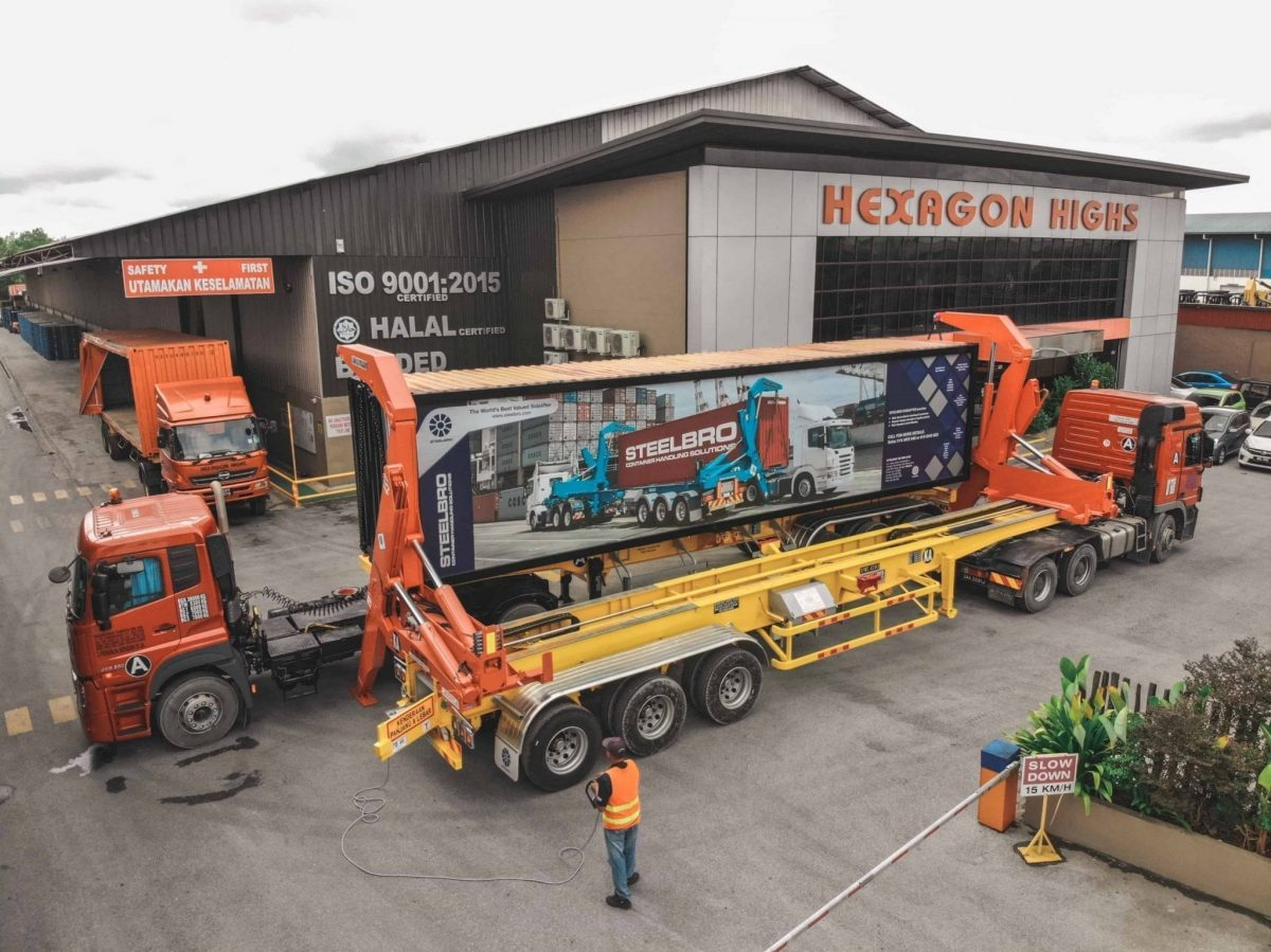 Hexagon reaches haulage 'highs' in East Malaysia